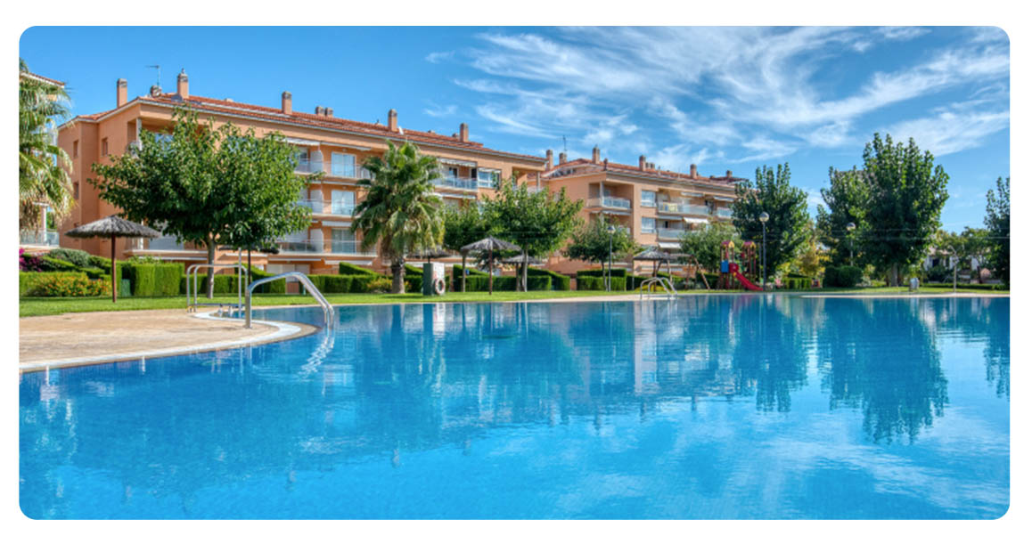acheter appartement duplex platja de aro piscine vue