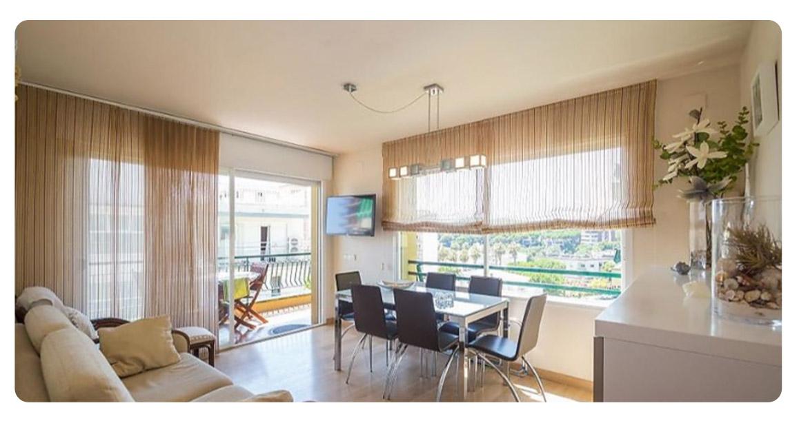 acheter appartement duplex platja de aro salon