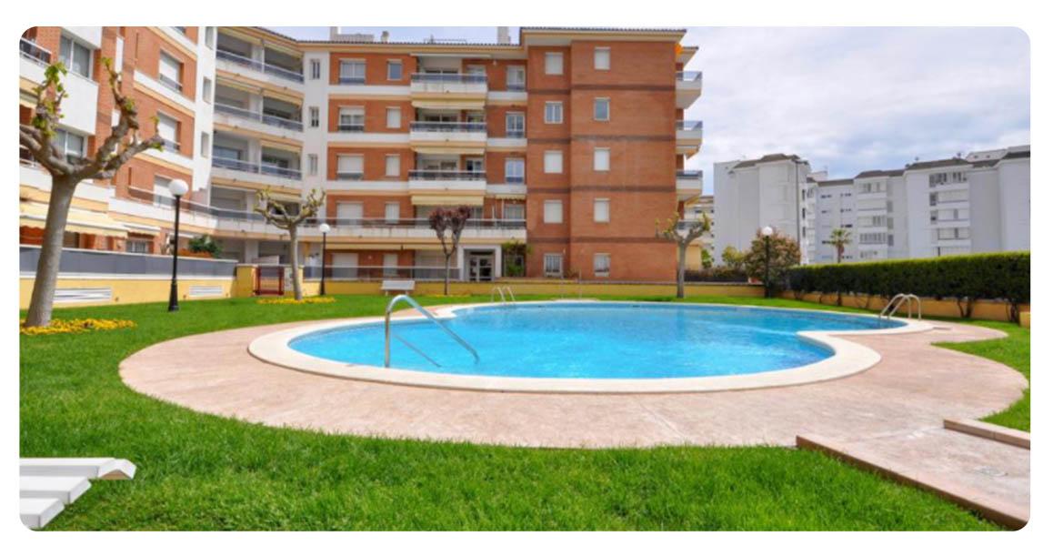 acheter appartement joli lloret de mar piscine