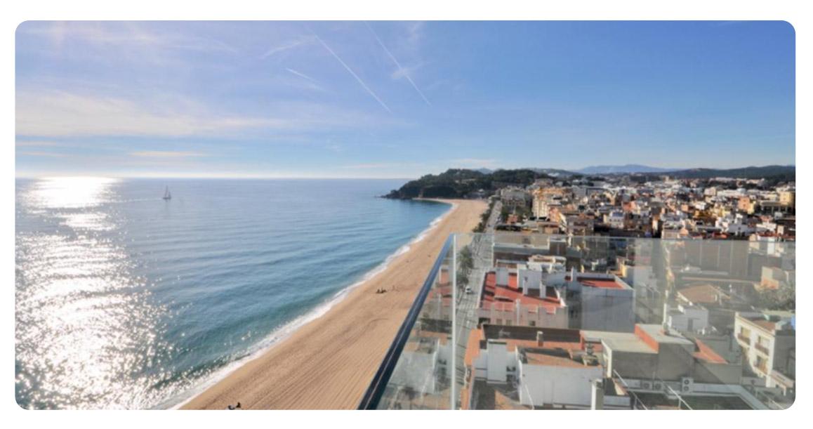 acheter appartement lloret de mar vue panoramique balcon vue