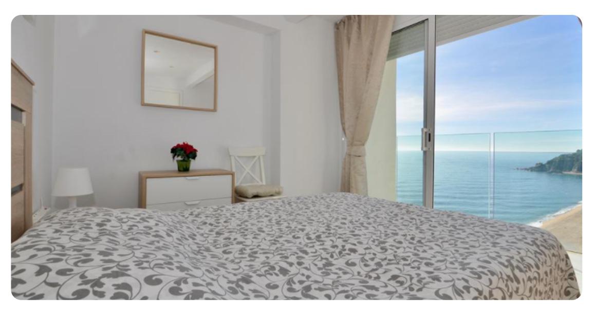acheter appartement lloret de mar vue panoramique chambre