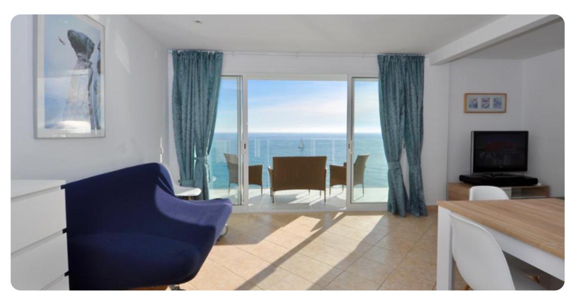 acheter appartement lloret de mar vue panoramique salon