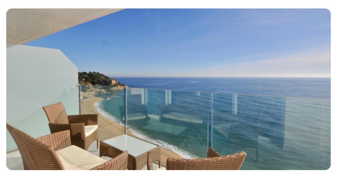 acheter appartement lloret de mar vue panoramique terrasse 2