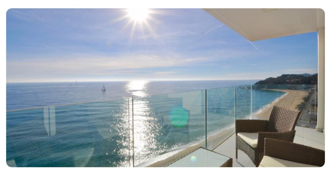 acheter appartement lloret de mar vue panoramique terrasse 3