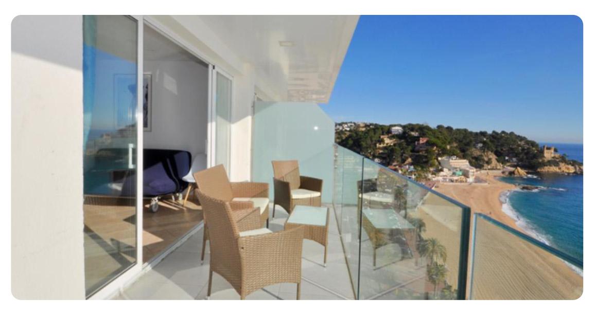 acheter appartement lloret de mar vue panoramique terrasse