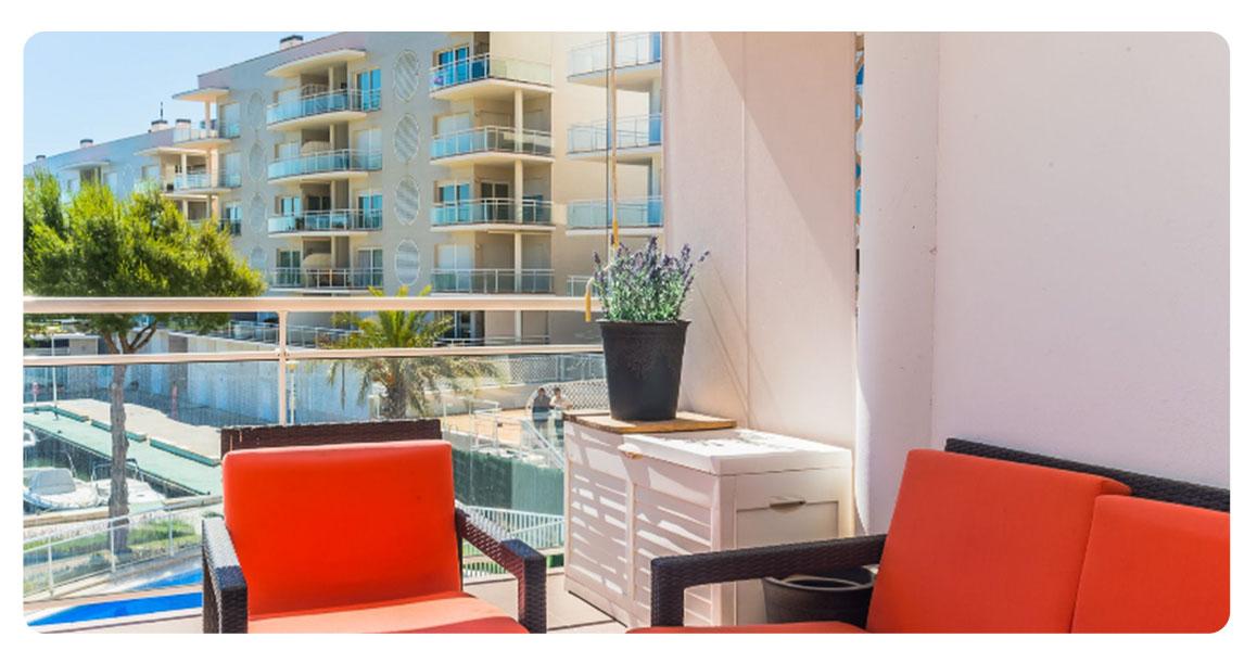 acheter appartement platja de aro port balcon