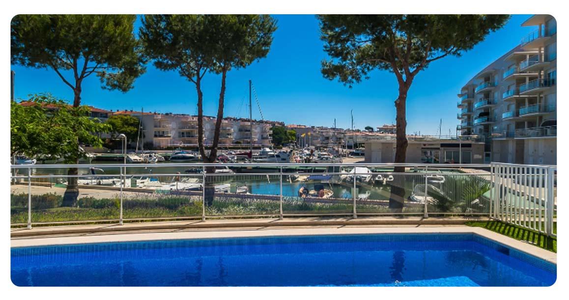 acheter appartement platja de aro port piscine vue