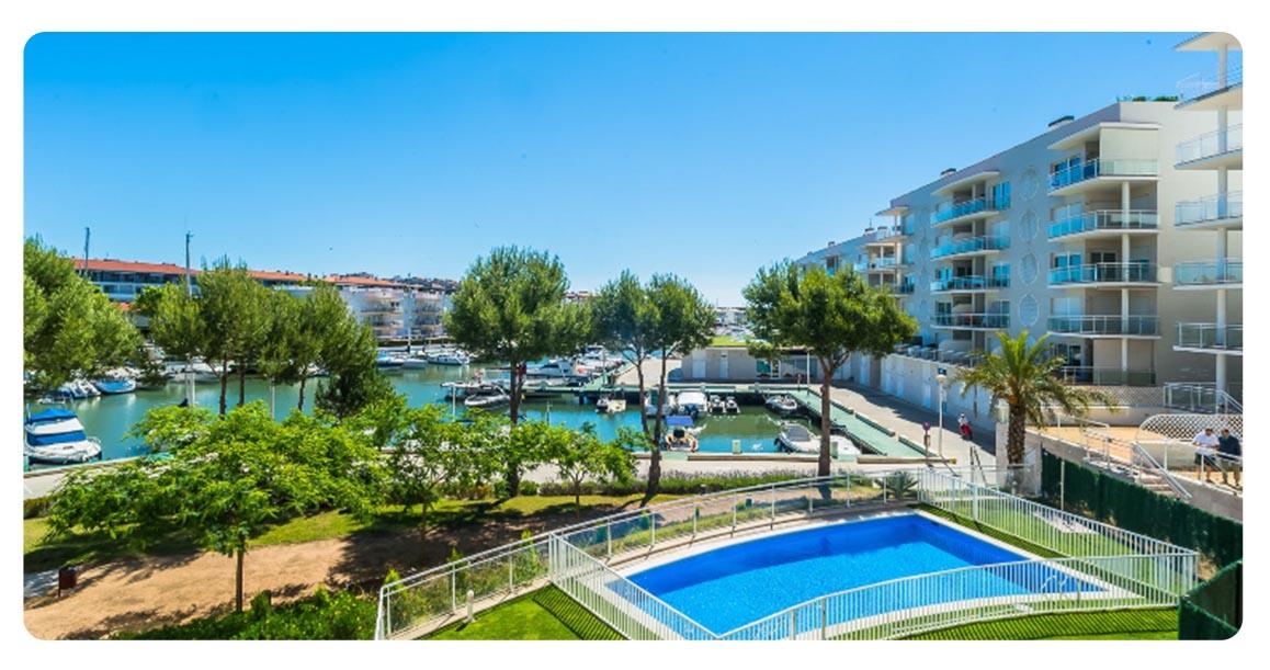 acheter appartement platja de aro port vue