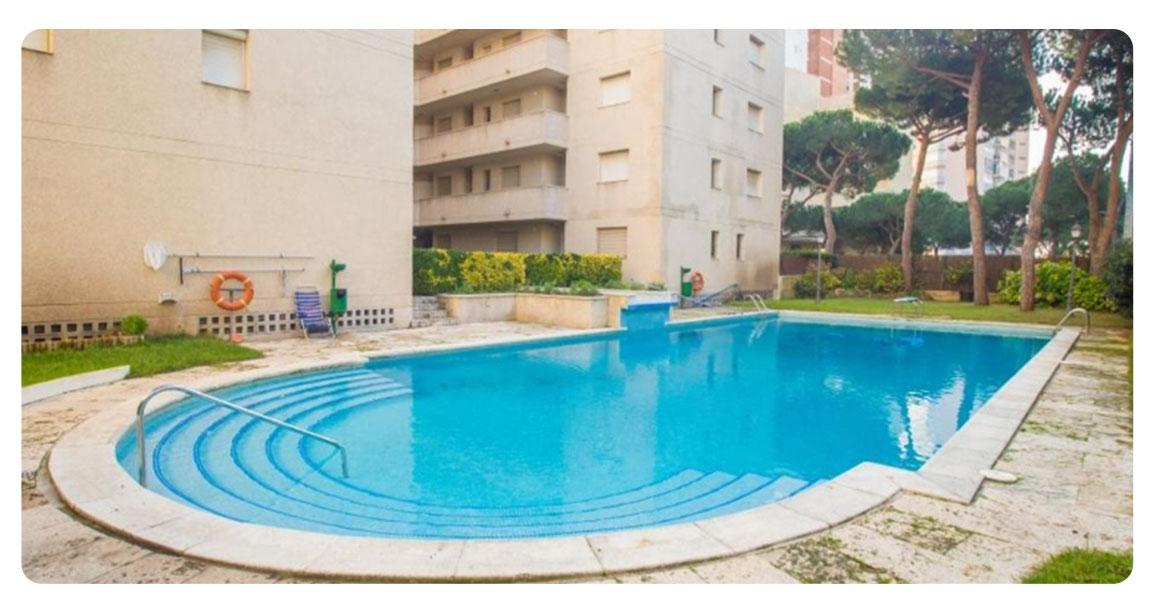 acheter grand appartement platja de aro piscine