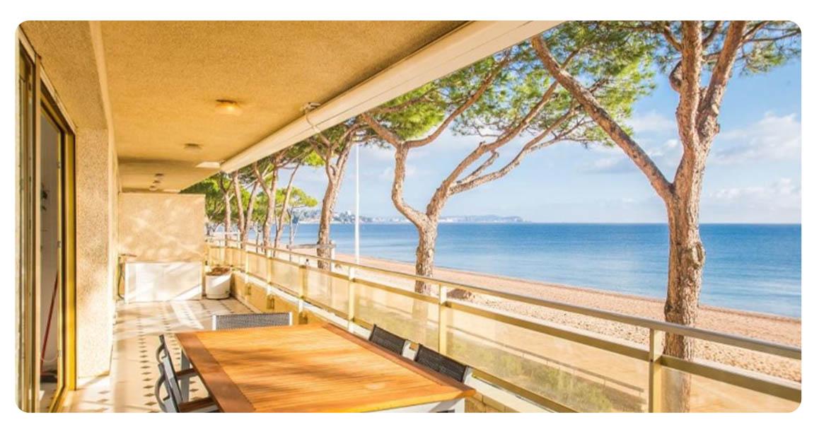 acheter grand appartement platja de aro terrasse vue