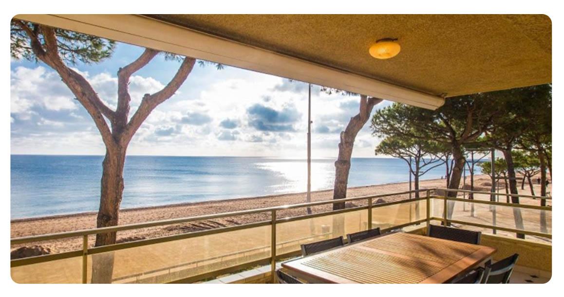 acheter grand appartement platja de aro vue
