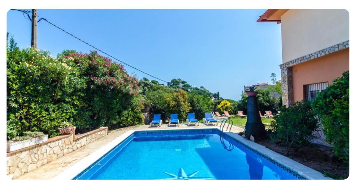 acheter maison lloret mar roca grossa piscine