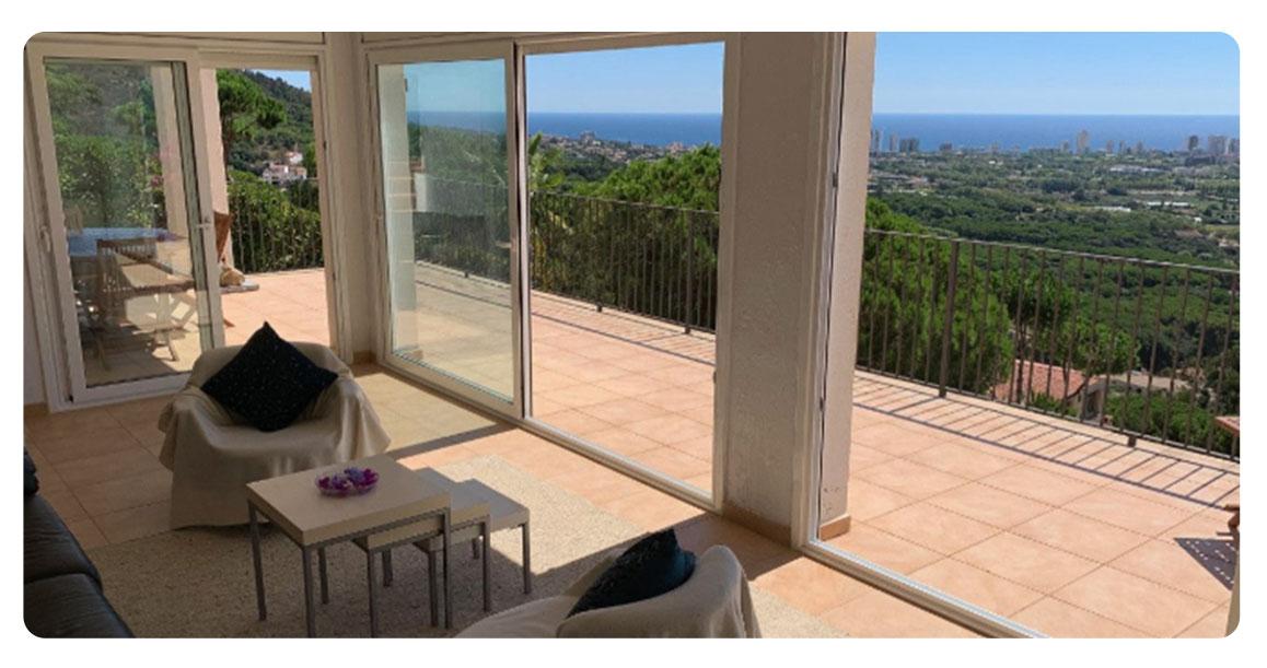 acheter maison platja de aro balcon