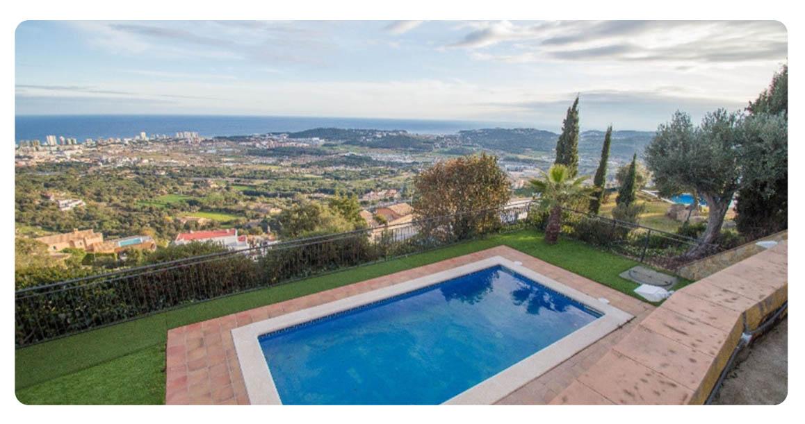 acheter maison platja de aro castell piscine vue