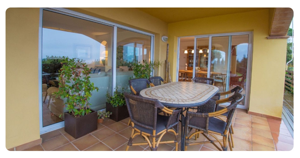 acheter maison platja de aro castell terrasse