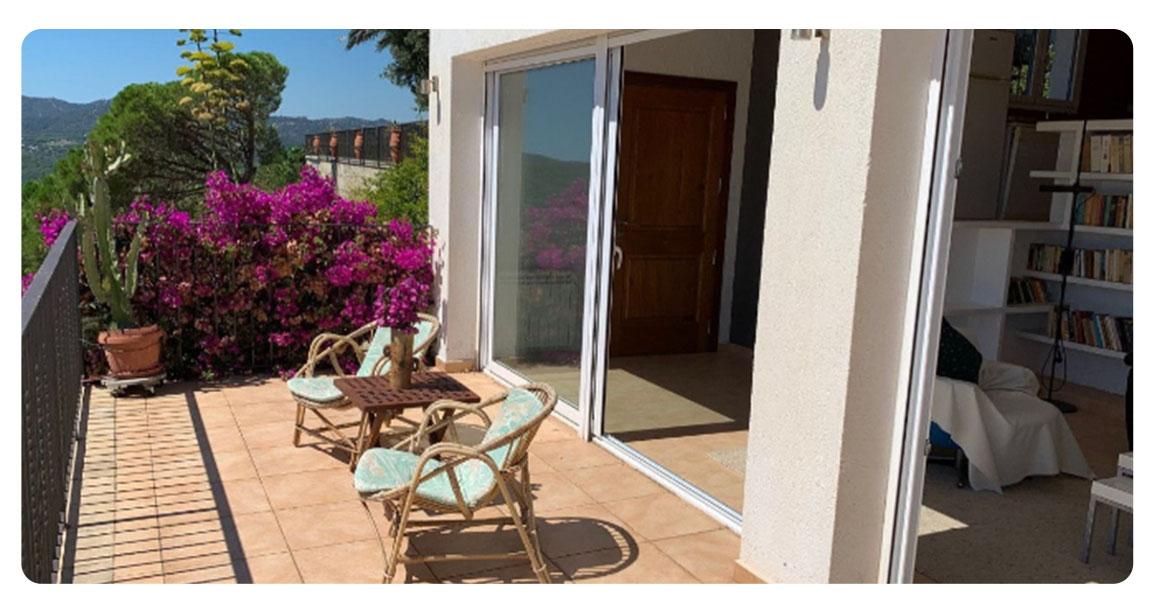 acheter maison platja de aro salon terrasse