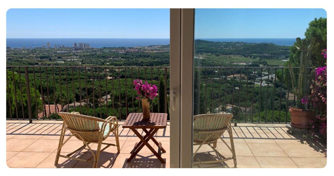 acheter maison platja de aro acheter maison platja de aro vue terrasse