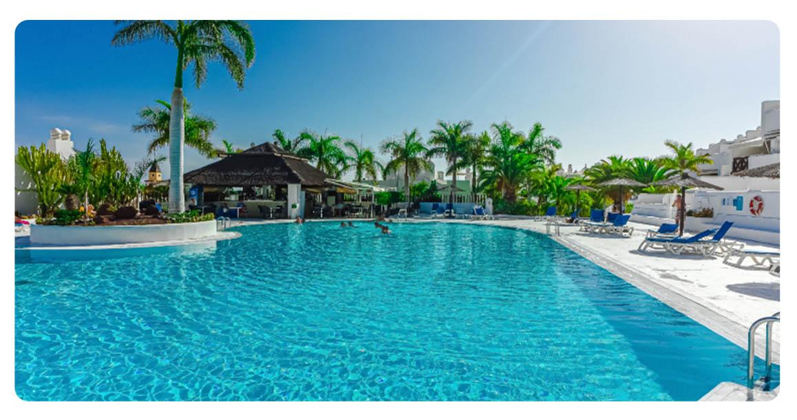 acheter appartement atico canaries tenerife piscine 2