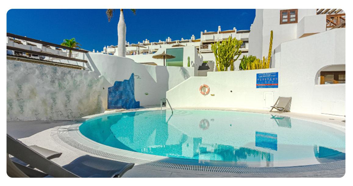 acheter appartement atico canaries tenerife piscine