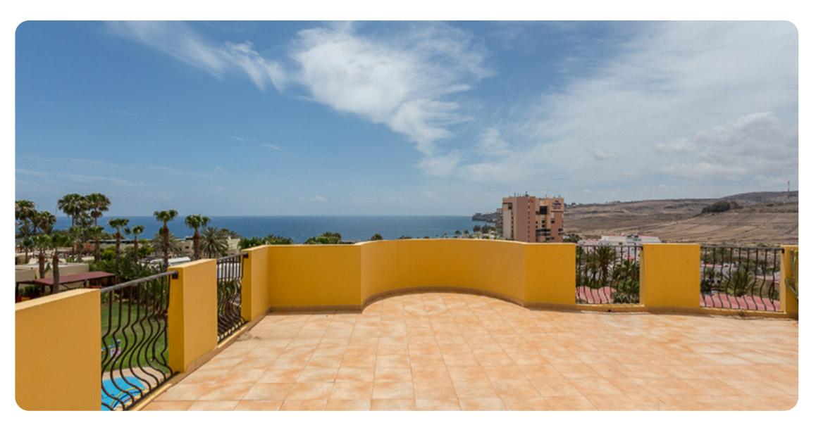 acheter appartement canaries gran canaria terrasse