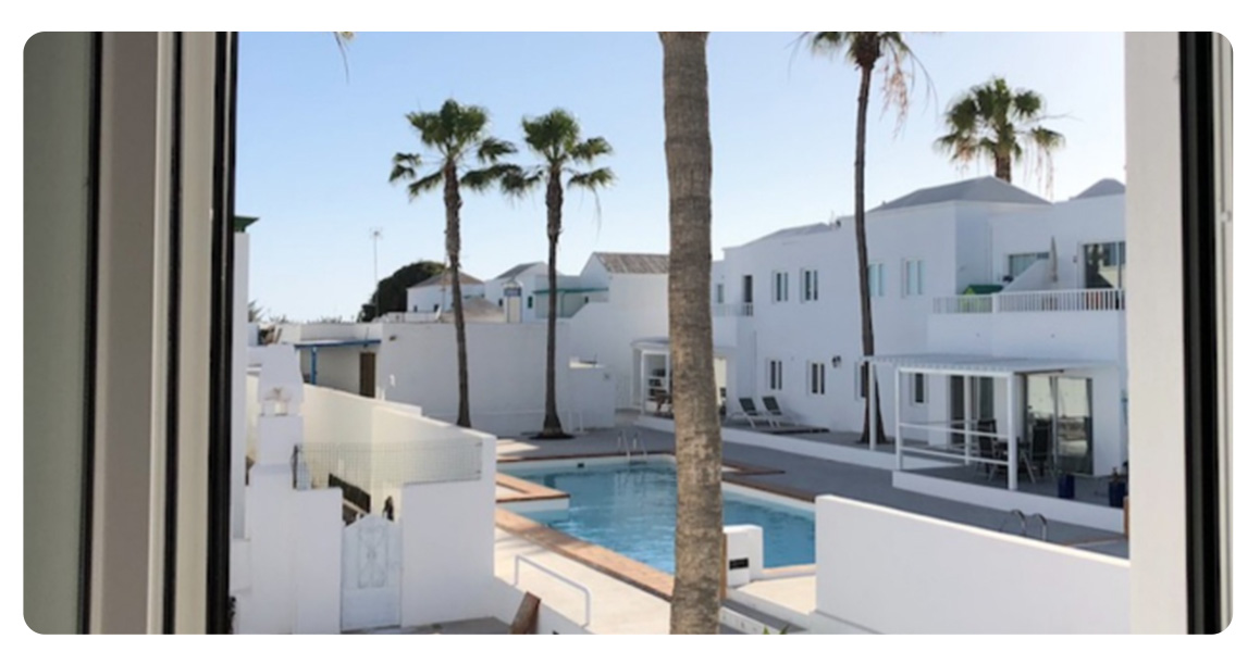 acheter appartement canaries lanzarote balcon vue
