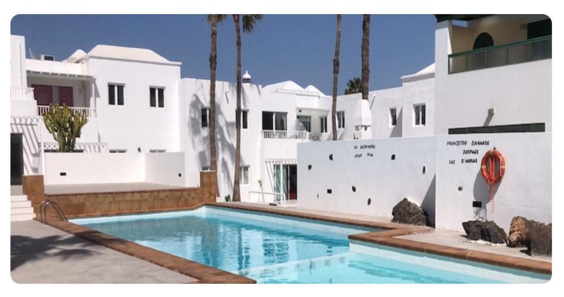 acheter appartement canaries lanzarote piscine