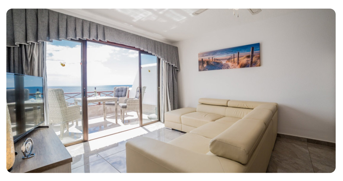 acheter appartement canaries tenerife salon