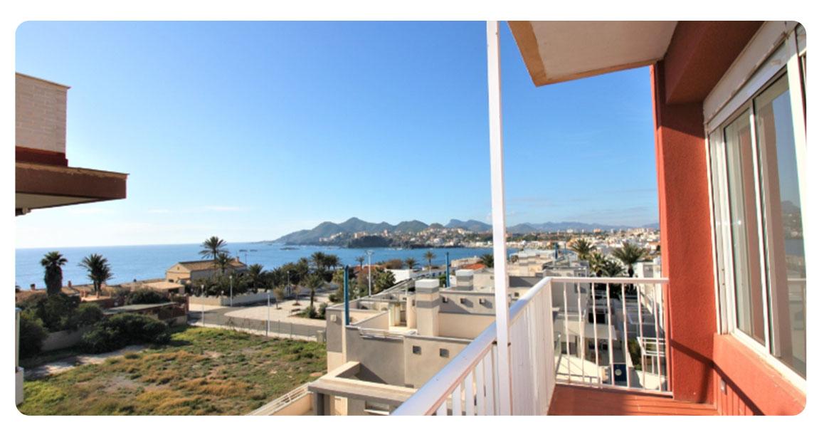 acheter appartement carthagene cabo de palos balcon
