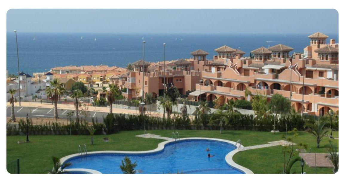 acheter bel appartement carthagene piscine vue