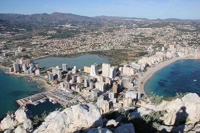vue panoramique sur Alicante