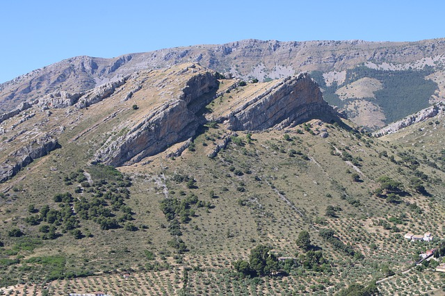 Vue sur la ville de Jaén