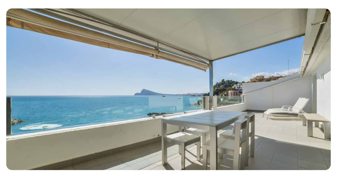 acheter appartement atico altea terrasse vue