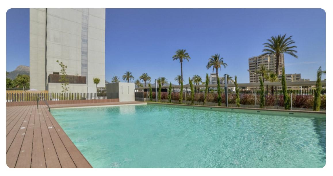 acheter appartement atico calpe piscine