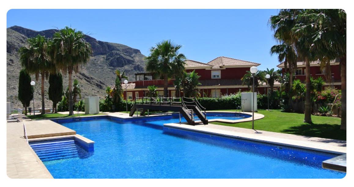 acheter appartement atico duplex roquetas de mar piscine