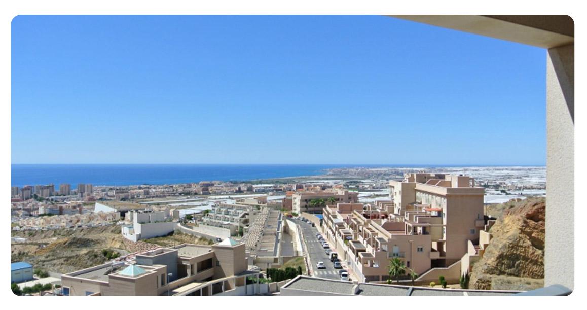 acheter appartement atico duplex roquetas de mar terrasse vue