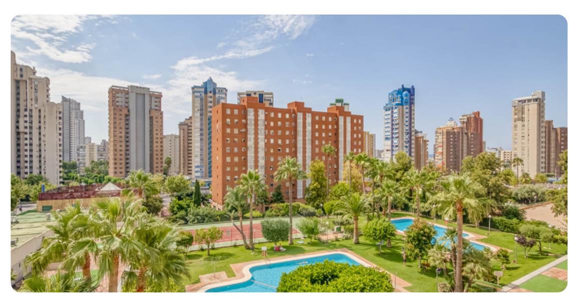 acheter appartement benidorm exterieur vue