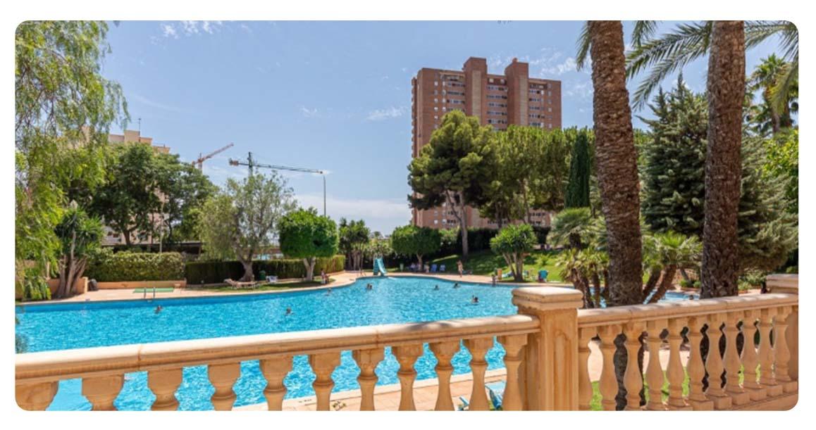 acheter appartement benidorm vue mer piscine