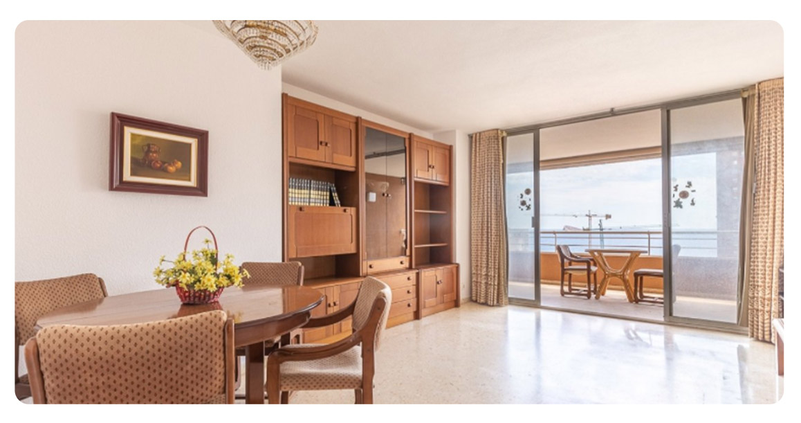 acheter appartement benidorm vue mer salon