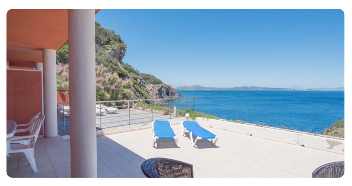 acheter appartement duplex begur vue mer terrasse