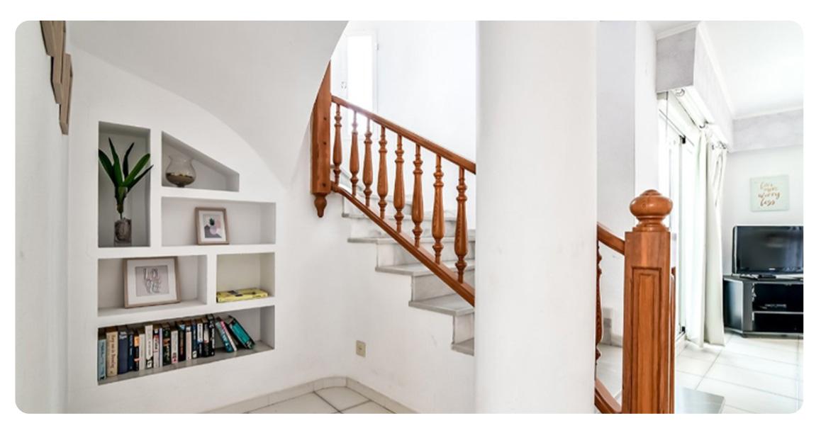 acheter appartement duplex calpe escaliers