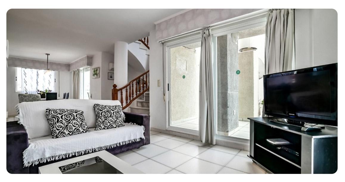 acheter appartement duplex calpe salon