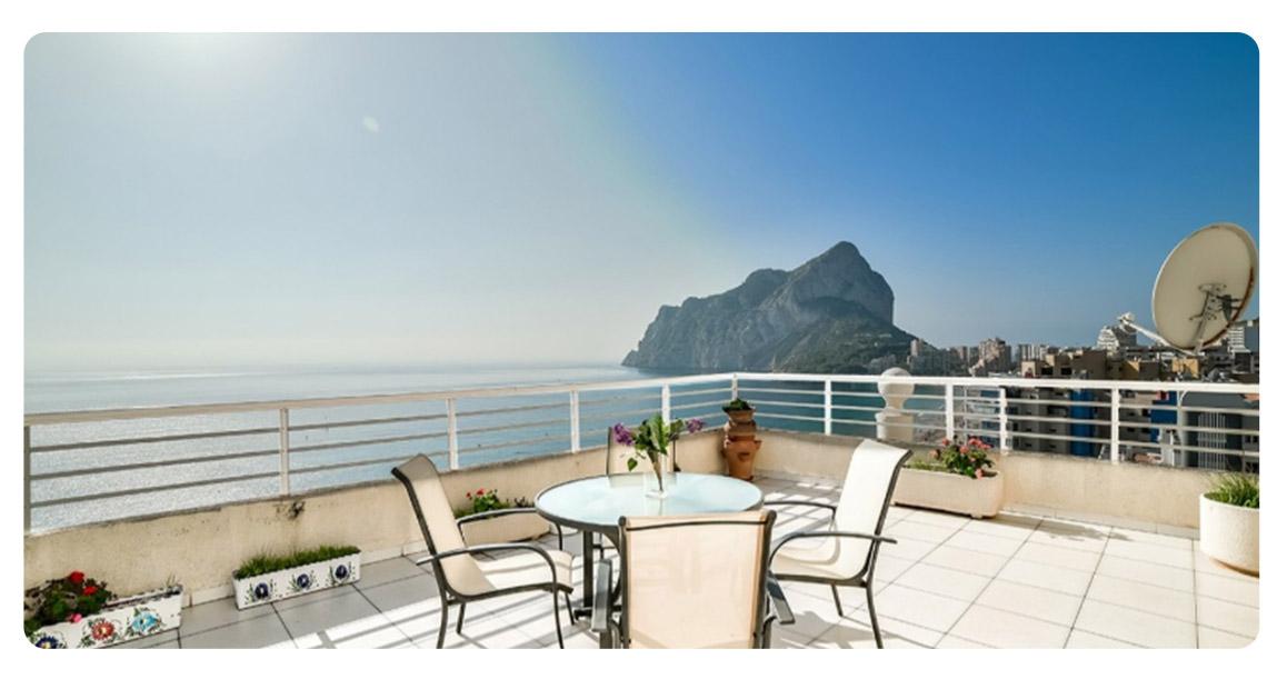acheter appartement duplex calpe terrasse