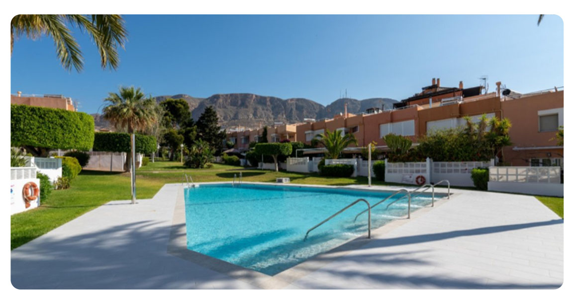 acheter appartement duplex roquetas de mar port piscine 2
