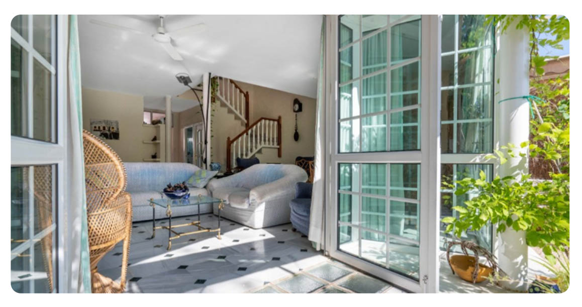 acheter appartement duplex roquetas de mar port salon 2