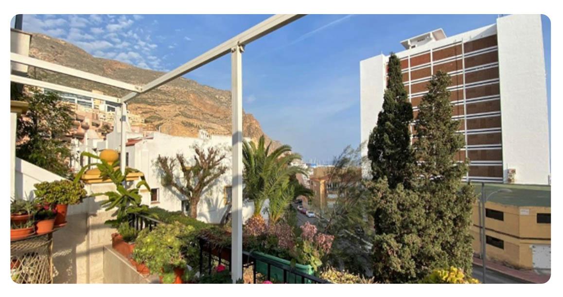acheter appartement duplex roquetas de mar puerto terrasse vue