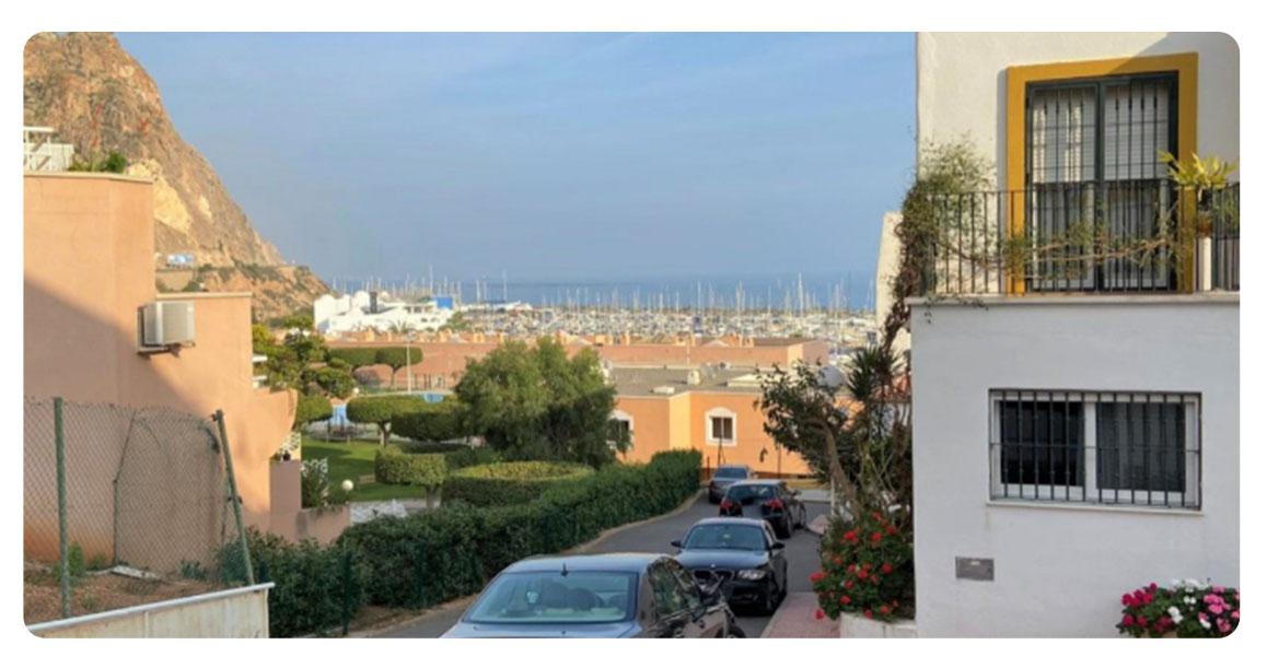 acheter appartement duplex roquetas de mar puerto vue