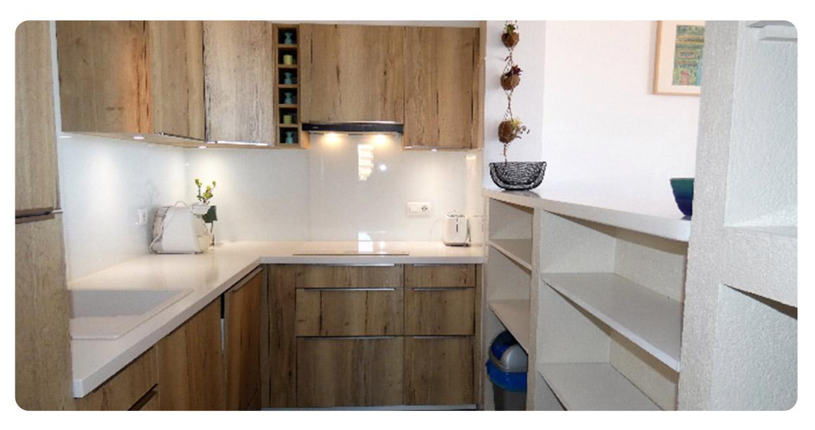 acheter appartement duplex roses empuriabrava cuisine