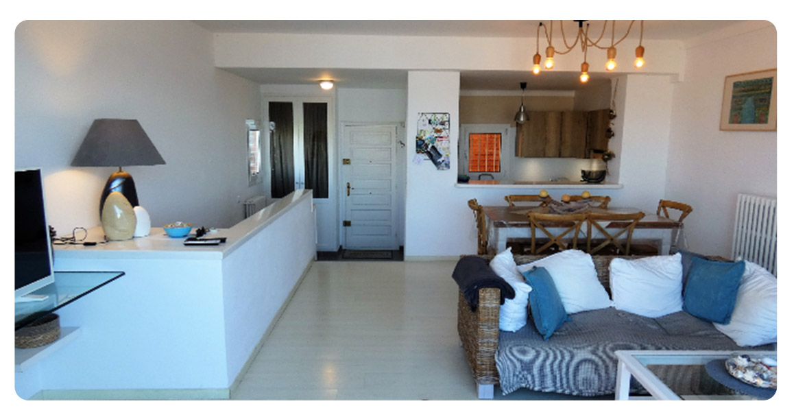 acheter appartement duplex roses empuriabrava salle a manger