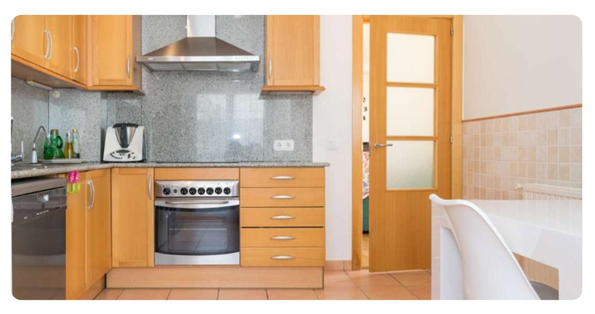 acheter appartement joli la escala cuisine