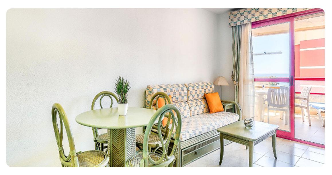 acheter appartement jolie calpe salon